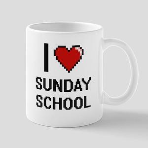 I love Sunday School Digital Design Mugs