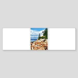 Bass Harbor Acadia National Park Ma Bumper Sticker