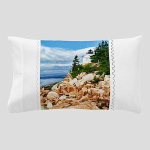 Bass Harbor Acadia National Park Maine Pillow Case