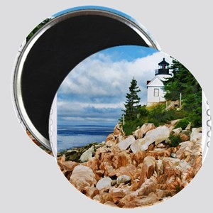 Bass Harbor Acadia National Park Magnets