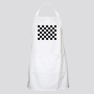 checker board Apron