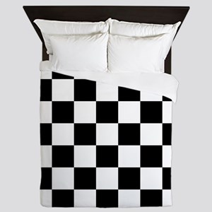 checker board Queen Duvet