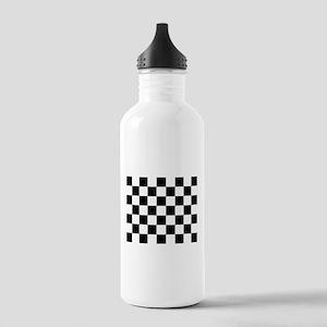 checker board Stainless Water Bottle 1.0L