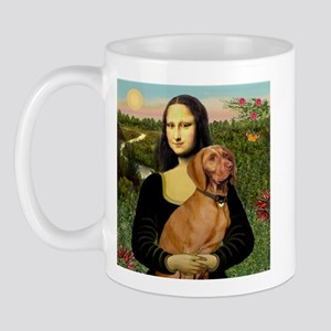 Mona Lisa (new) & Vizsla Mug
