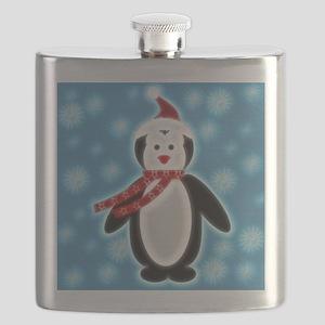 Happy X-mas Penguine Flask