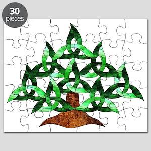 Celtic Tree Puzzle