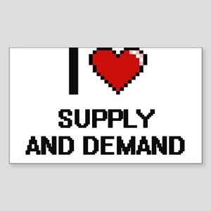 I love Supply And Demand Digital Design Sticker