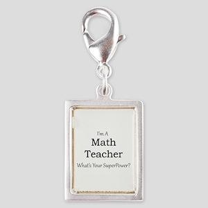 Math Teacher Charms
