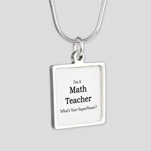Math Teacher Necklaces