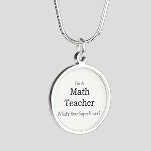 Math Teacher Necklaces