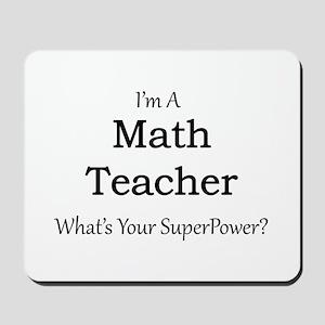 Math Teacher Mousepad