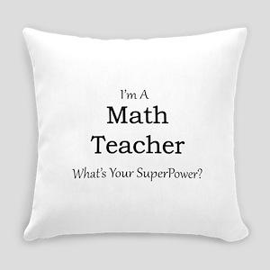 Math Teacher Everyday Pillow