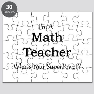 Math Teacher Puzzle