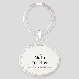 Math Teacher Keychains