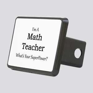 Math Teacher Rectangular Hitch Cover