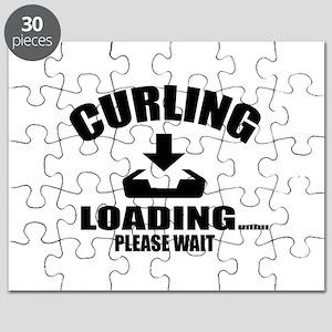 Curling Loading Please Wait Puzzle