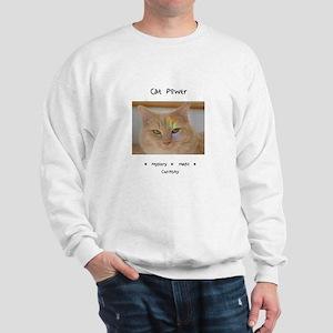 Rainbow Light Cat Power Sweatshirt