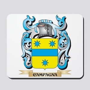 Campagna Coat of Arms - Family Crest Mousepad
