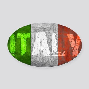 Vintage ITALY Oval Car Magnet