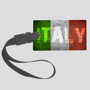 Vintage ITALY Large Luggage Tag