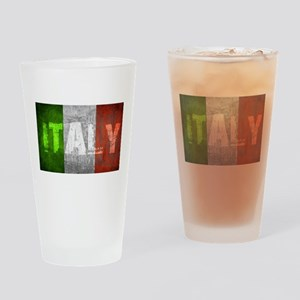 Vintage ITALY Drinking Glass