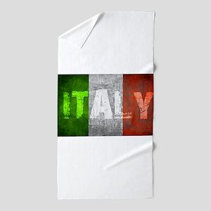 Vintage ITALY Beach Towel