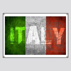 Vintage ITALY Banner