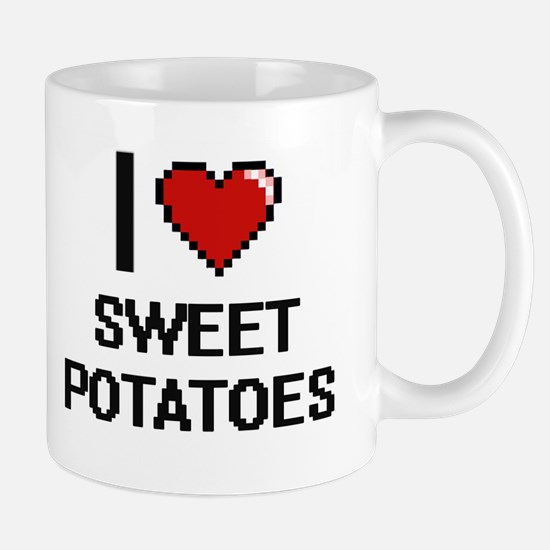 I love Sweet Potatoes Digital Design Mugs