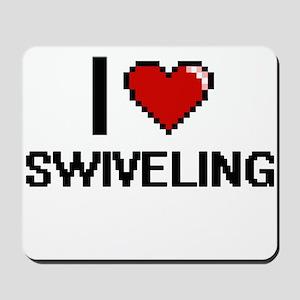 I love Swiveling Digital Design Mousepad