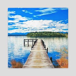 Beautiful Lake Queen Duvet