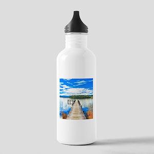 Beautiful Lake Water Bottle