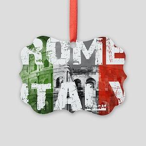 ROME ITALY Picture Ornament