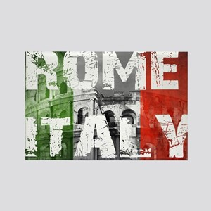 ROME ITALY Rectangle Magnet