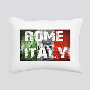 ROME ITALY Rectangular Canvas Pillow