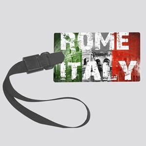 ROME ITALY Large Luggage Tag