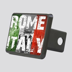 ROME ITALY Rectangular Hitch Cover
