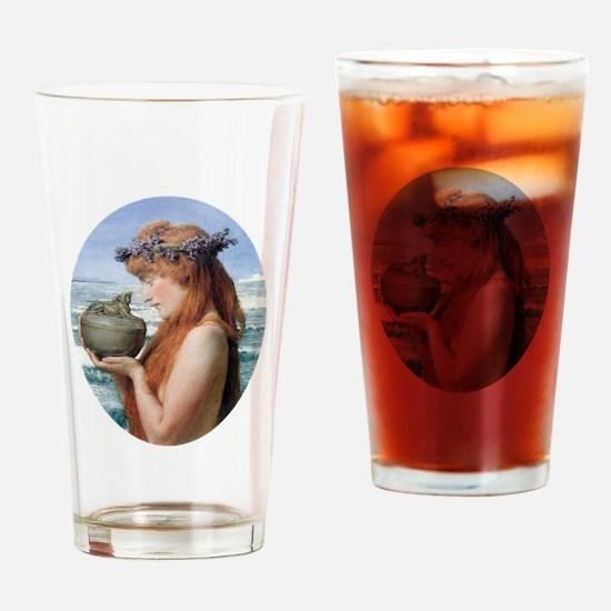 Pandora by Alma Tadema Drinking Glass