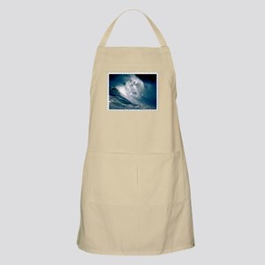 Rogue Wave in the Middle of the Ocean Stamp Apron
