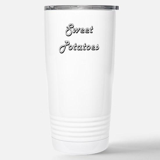 Sweet Potatoes Classic Stainless Steel Travel Mug