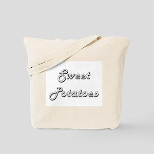 Sweet Potatoes Classic Retro Design Tote Bag