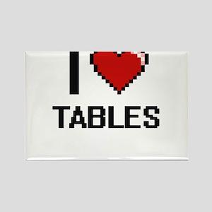 I love Tables Digital Design Magnets