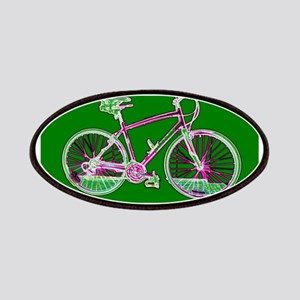 Ditch the Car Ride A Bicycle Green for Nobuy Patch