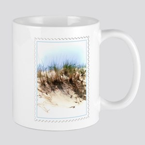 Watercolor Sketch of Sand Dune Stamp Mugs