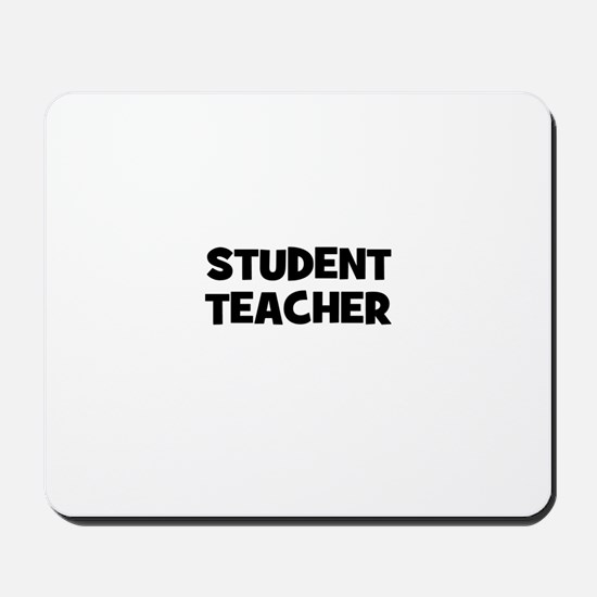 Student Teacher Mousepad