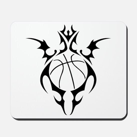 tribal basketball Mousepad