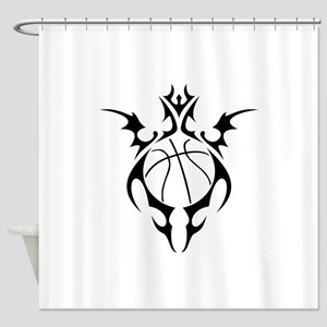 tribal basketball Shower Curtain