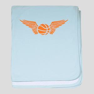 basketball wings baby blanket