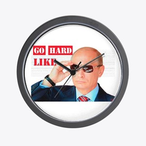 Go Hard Like Wall Clock