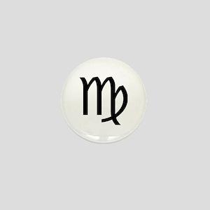 Virgo Symbol Mini Button