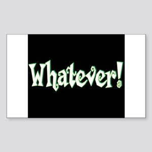 Whatever II Rectangle Sticker